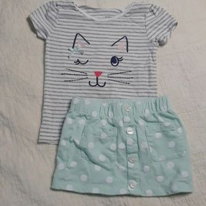 Toddler girl set